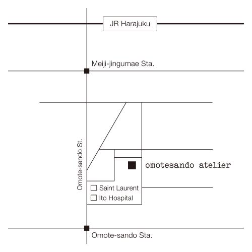 omotesando atelier Location Map